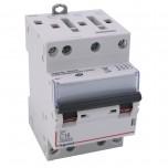 Legrand - Disjoncteur DX³ 6000 -vis/vis- 4P- 400V~-16A-10kA-courbeC-peigne HX³ opti 4P -3M - Réf : 407907