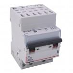 Legrand - Disjoncteur DX³ 6000 -auto/vis- 4P- 400V~-20A-courbeC-peigne HX³ opti 4P -3M - Réf : 407915