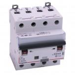 Legrand - Disjoncteur différentiel monobloc DX³6000 10k à vis 4P 400V~ - 16A - typeAC 300mA - Réf 411205