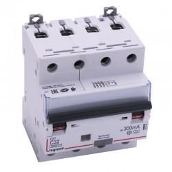 Legrand - Disjoncteur différentiel monobloc DX³6000 10kA à vis 4P 400V~ - 32A - typeA 300mA - Réf : 411242