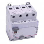 Legrand - Inter diff DX³-ID - vis/vis - 4P - 400V~- 25A - type AC - 30mA - départ bas - 4M - Réf : 411660