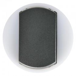 Legrand Céliane - Enjoliveur - VV / Poussoir avec couronne Lum - Doigt Large Graphite - Réf : 065204