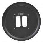 Legrand Céliane - Enjoliveur - Prise Double pour Chargeur USB - Graphite - Réf : 067956