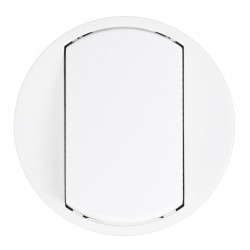 Legrand Céliane - Enjoliveur - VV / Poussoir - Doigt Large Blanc - Réf : 068001