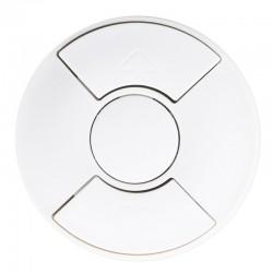 Legrand Céliane - Enjoliveur - Inter / Poussoir / cde pour Fenêtre de Toit - Blanc - Réf : 068151