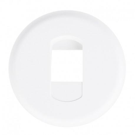 Legrand Céliane - Enjoliveur - Prise HP Simple - Blanc - Réf : 068211