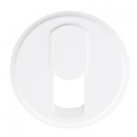 Legrand Céliane - Enjoliveur - Prise Téléphone pour Réseau Mixte et Basique - Blanc - Réf : 068237
