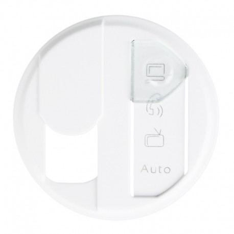 Legrand Céliane - Enjoliveur - Prise Simple pour Réseau Optimum - Blanc - Réf : 068291