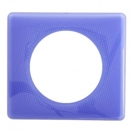 Legrand - Plaque Céliane - Laqué - 1 poste - Violet 90's - Réf : 066661