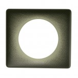 Legrand - Plaque Céliane - Poudré - 1 poste - Eclipse - Réf : 066740