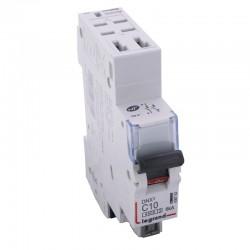 Legrand - Disjoncteur DNX³ 4500 - auto/auto - U+N 230V~ 10A - 4,5kA - courbe C - 1 module - Réf : 406782