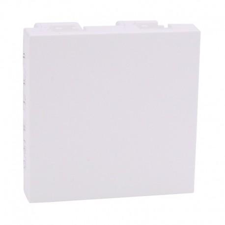 Legrand Mosaic - Obturateurs - 2 modules - blanc - Réf : 077071