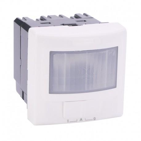 Legrand Mosaic - Ecodétecteur 2 fils sans neutre avec dérogation - 2 modules - blanc - Réf : 078459