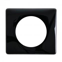1 poste plaque c/éliane legrand 066681 noir