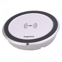Legrand - Chargeur à induction 1000mA Mosaic version intégrable dans mobilier - Réf : 077580