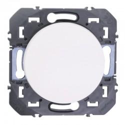 Legrand - Poussoir simple dooxie 6A 250V~ finition blanc - Réf : 600004