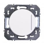 Legrand - Interrupteur ou va-et-vient avec voyant témoin dooxie 10AX 250V~ finition blanc - Réf : 600009