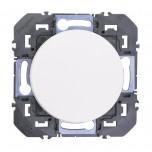 Legrand - Permutateur dooxie 10AX 250V~ finition blanc - Réf : 600037