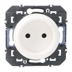 Legrand - Prise de courant 2P à puits dooxie 16A finition blanc - Réf : 600334
