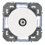 Legrand - Prise TV type F à visser dooxie finition blanc - Réf : 600350