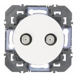 Legrand - Prise réseau câblé AFORM type F dooxie à étoile blindée finition blanc - Réf : 600357