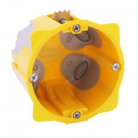 Legrand - Boîte monoposte Prog. Ecobatibox - prof. 50 mm - 1 poste - Réf : 080031