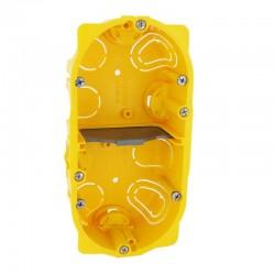Legrand - Boîte multiposte Batibox - cloison sèche - 2 postes - 4/5 mod - prof. 40 - Réf : 080042