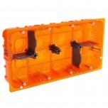 Legrand - Boîte multimatériaux Batibox - grand format - pour Mosaic 2x10 mod - prof 50 - Réf : 080128