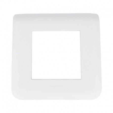 Legrand Mosaic - Plaque pour 2 modules - Réf : 078802