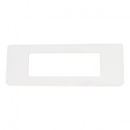 Legrand Mosaic - Plaque pour 6 modules horizontal - Réf : 078816