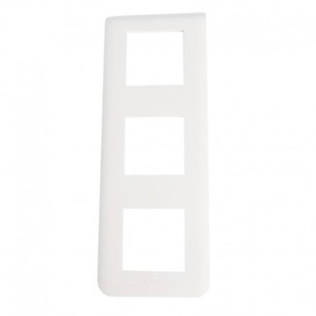 Legrand Mosaic - Plaque pour 3x2 modules vertical - Réf : 078823