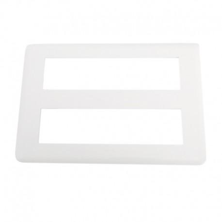 Legrand Mosaic - Plaque pour 2x8 modules - Réf : 078837