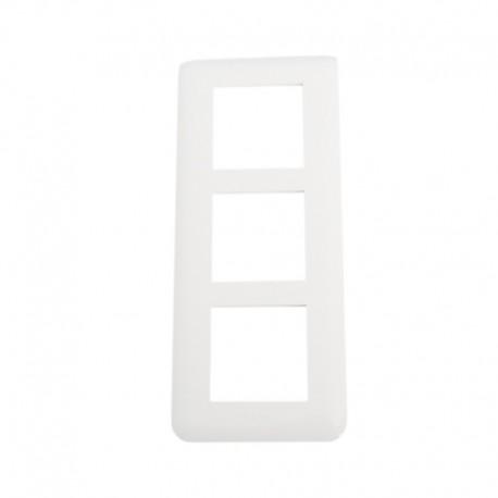 Legrand Mosaic - Plaque spéciale rénovation - 3x2 modules vertical - Réf : 078856