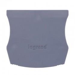 Legrand - Cloison terminale pr bloc jonction Viking 3 à vis - 1 entr/1 sort - pas 12 et 15 - Réf: 037551