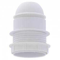 Legrand - Douille raccord fileté Ø10 mm E27 - 4A/100W - simple bague - à vis - Réf : 060121