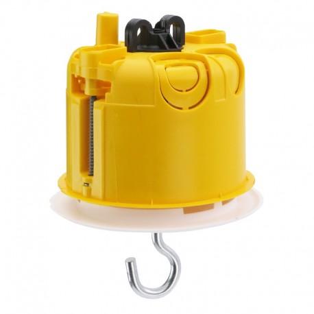 Legrand - Boîte luminaire Batibox - cloison sèche - couvercle DCL - pour point de centre - Réf : 089337