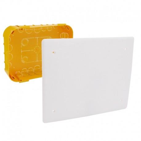 Legrand - Boîte pour dérivation Batibox cloisons sèches 230x170x50mm couvercle 225x210mm - Réf : 089375