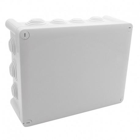 Legrand Plexo - Boîte de dérivation rectangulaire Plexo dimensions 220x170x86mm - gris RAL7035 - Réf : 092062