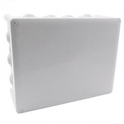 Legrand Plexo - Boîte de dérivation rectangulaire Plexo dimensions 310x240x124mm - gris RAL7035 - Réf : 092082