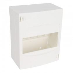 Legrand - Coffret cache-bornes - 6 modules - blanc RAL 9010 - Réf : 001306