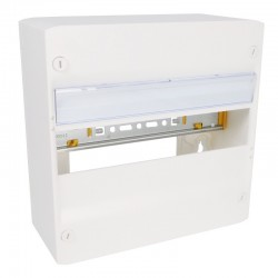 Legrand - Coffret DRIVIA 13 modules - 1 rangée - IP30 - IK05 - Blanc RAL 9003 - Réf : 401211