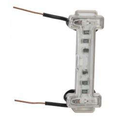 Legrand - Voyant LED lumineux 230V dooxie à raccordement par montage direct 2 fils - consommation 0,15mA - Réf : 600043