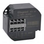 Legrand - Télérupteur 1P - 10 AX - 230 V~ - 50/60 Hz - intensité max acceptée 50 mA - Réf : 049120