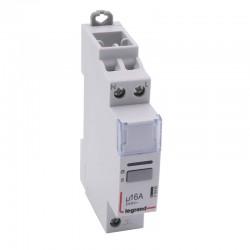 Legrand - Télérupteur silencieux à vis 230 V~- 1P - 250 V~ - 16 A - 1F - 1 module - Réf : 412400