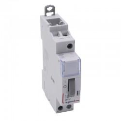 Legrand - Télérupteur standard à vis 12 V~- 1P - 250 V~ - 16 A - 1F - 1 module - Réf : 412404