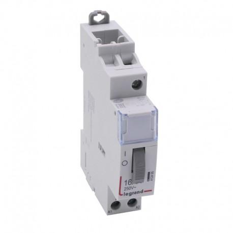 Legrand - Télérupteur standard à vis 24 V~- 1P - 250 V~ - 16 A - 1F - 1 module - Réf : 412405