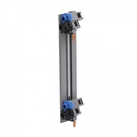 Legrand - Peigne vertical VX³ - entraxe 125 mm - pour coffret 2 rangées - Réf : 405000