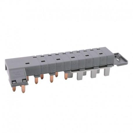 Legrand - Peigne d'alimentation tétrapolaire tête de groupe HX³ horizontal optimisé - longueur 6 modules - Réf : 405200