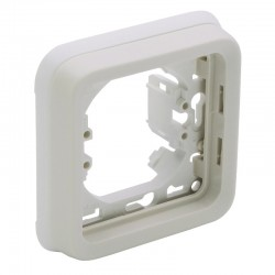 Legrand - Support plaque 1 poste Plexo composable IP55 - blanc - Réf : 069692