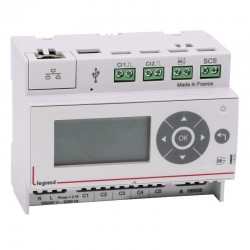 Legrand - Ecocompteur - 110-230 V~ - 6 modules - Réf: 412000